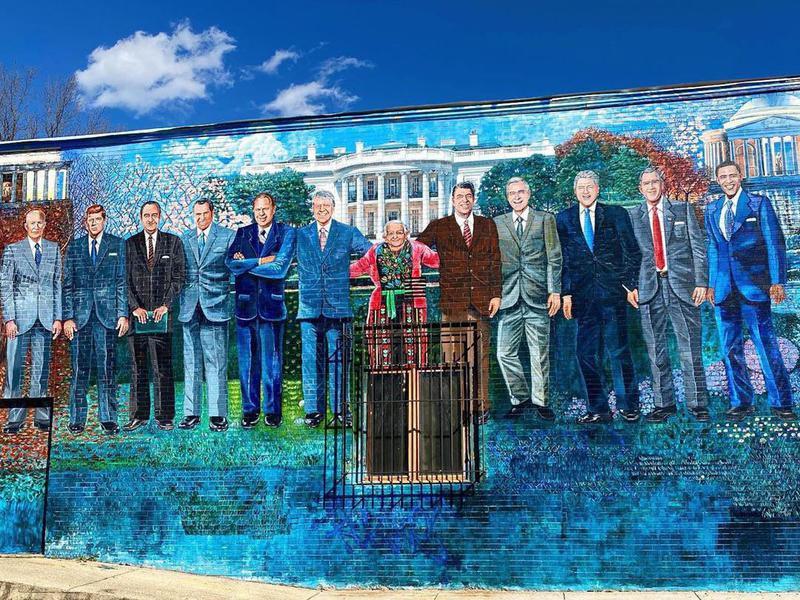 Mama Ayesha's Presidental Mural
