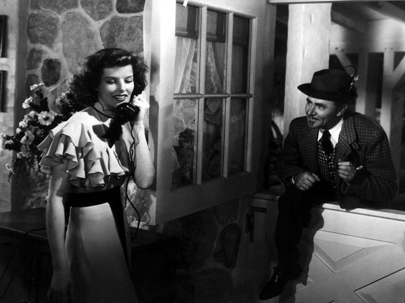 Katharine Hepburn in Bringing Up Baby