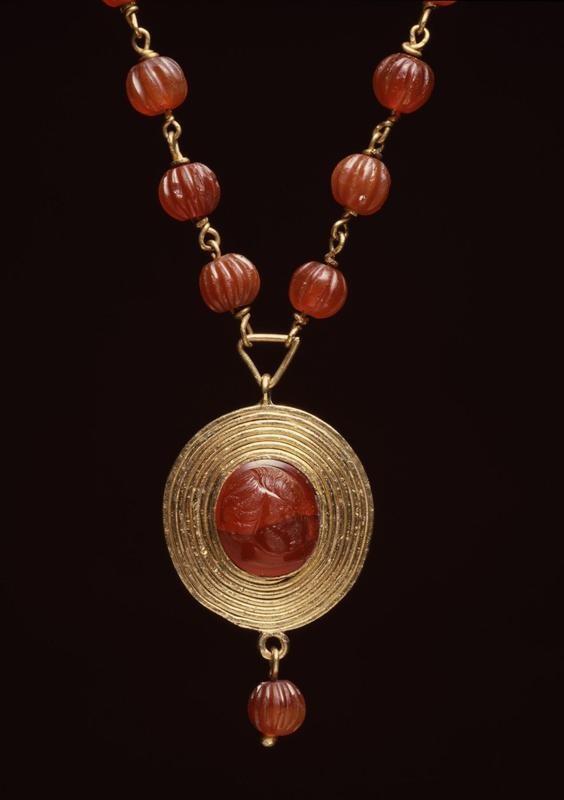 Ancient Roman necklace