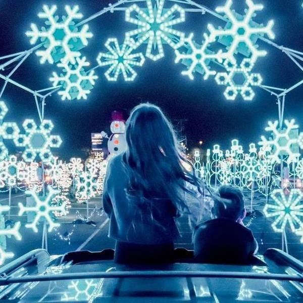 25 Amazing Holiday Light Displays in the U.S.
