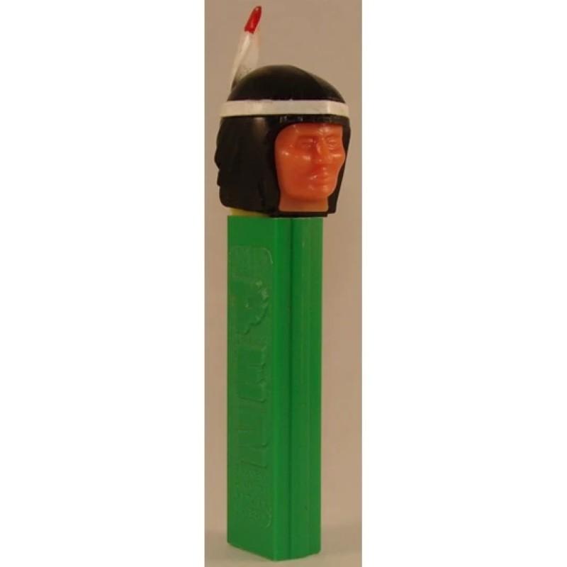 Indian Brave Pez dispenser