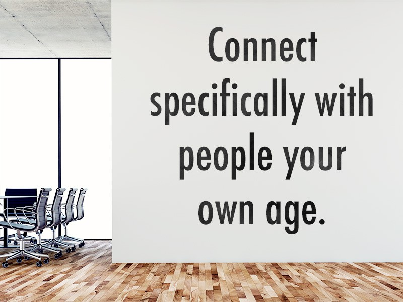 Network With Other Workers Over 50