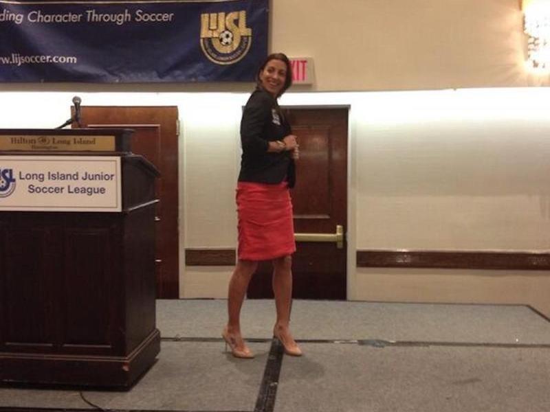 USWNT midfielder Sara Whalen