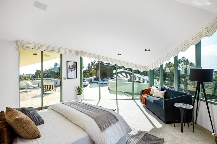 Pharrell Williams' rooftop guest room