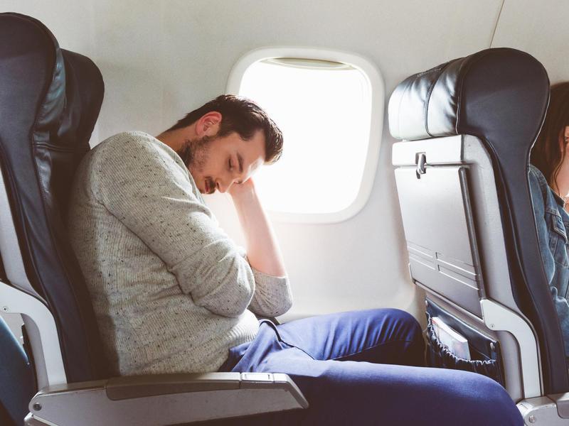 Snoring on Plane