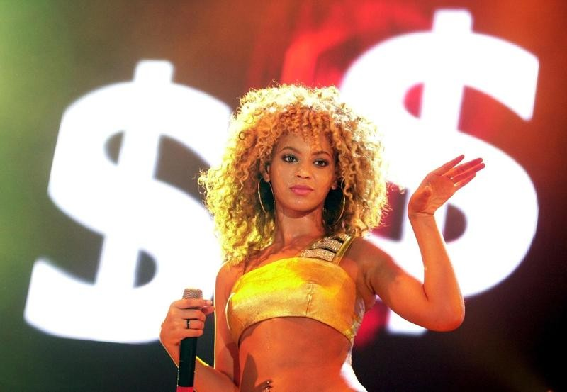 Beyonce in 2002