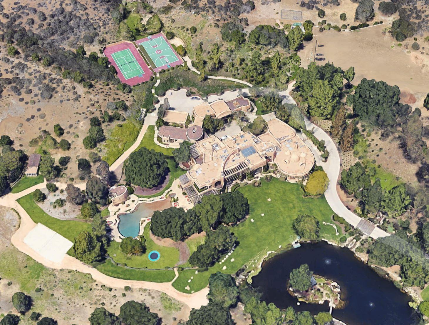Will Smith and Jada Pinkett-Smith's House