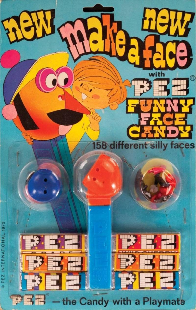 Make-A-Face Pez dispensers
