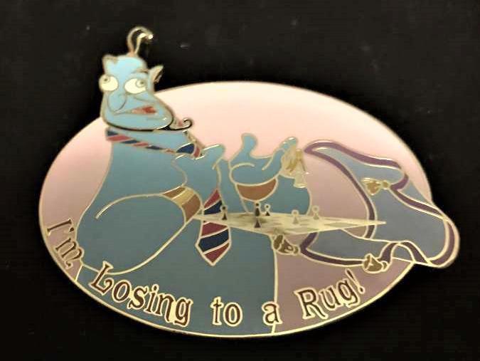 Aladdin Genie pin