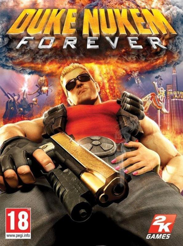 Duke Nukem Forever cover