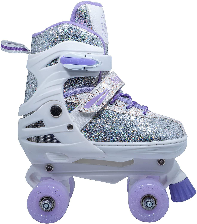 WiiSham fun roll adjustable canvas roller skates
