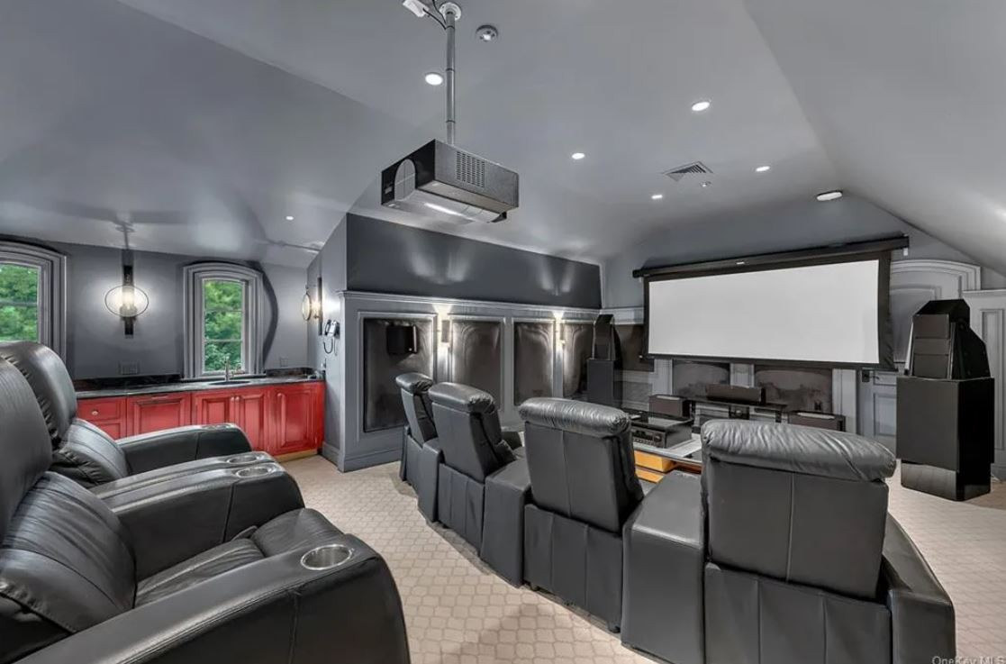 Large home theatter