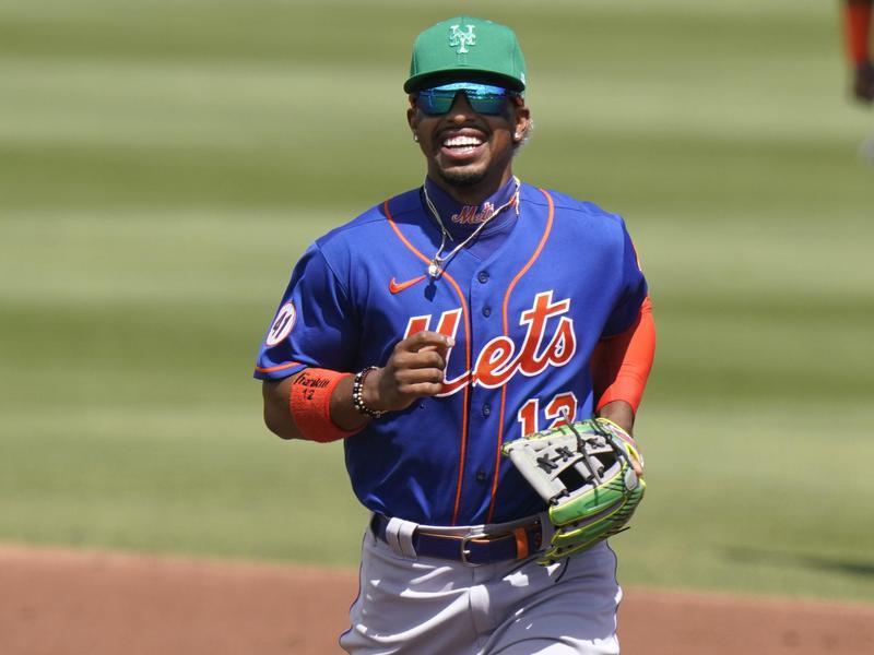 New York Mets shortstop Francisco Lindor