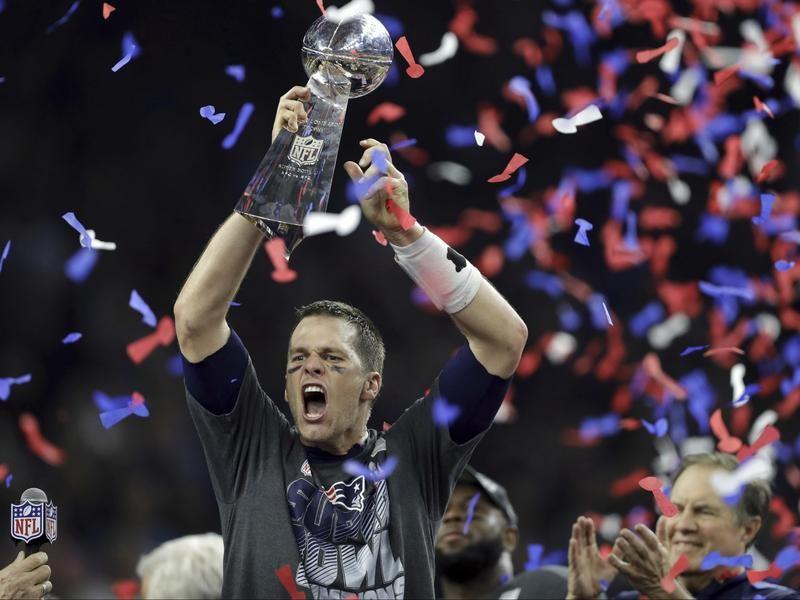 Tom Brady wins his fifth Super Bowl
