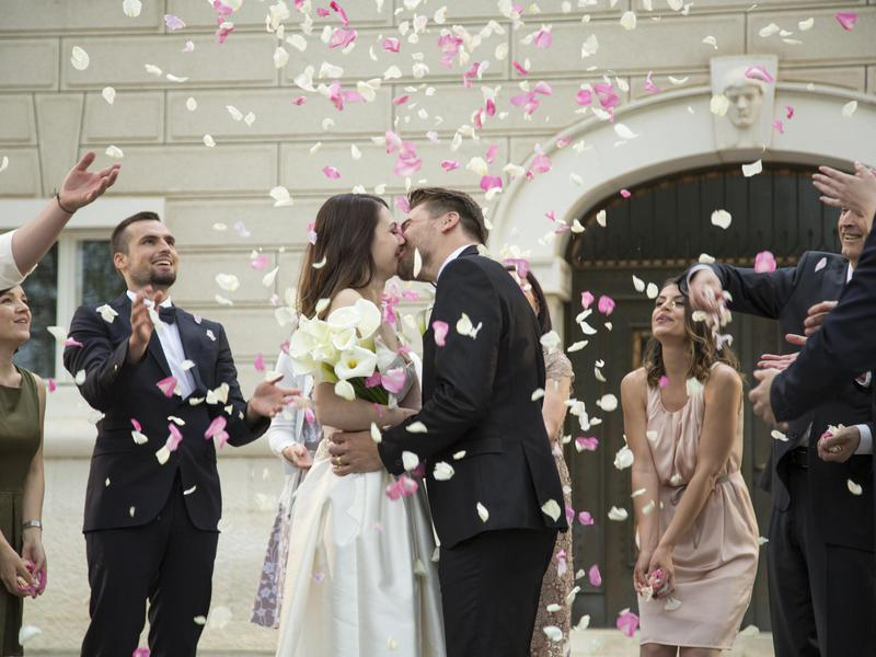 The wedding itself can be a huge financial cost