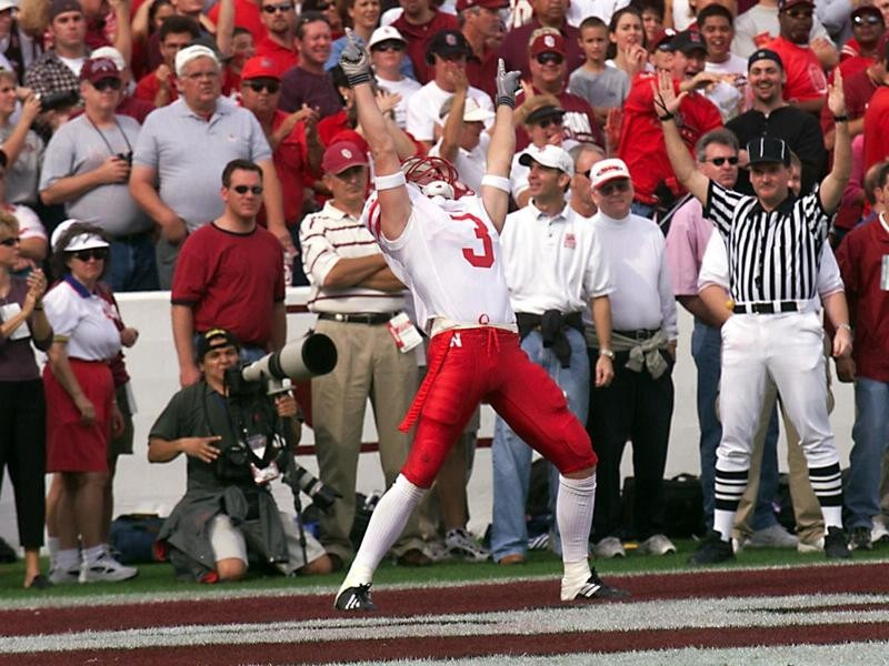 Tecumseh High wide receiver Matt Davison