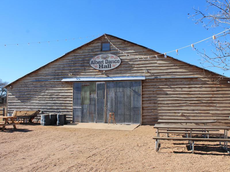 The Dance Hall of Albert, Texas