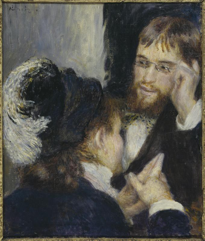 'Conversation' by Renoir