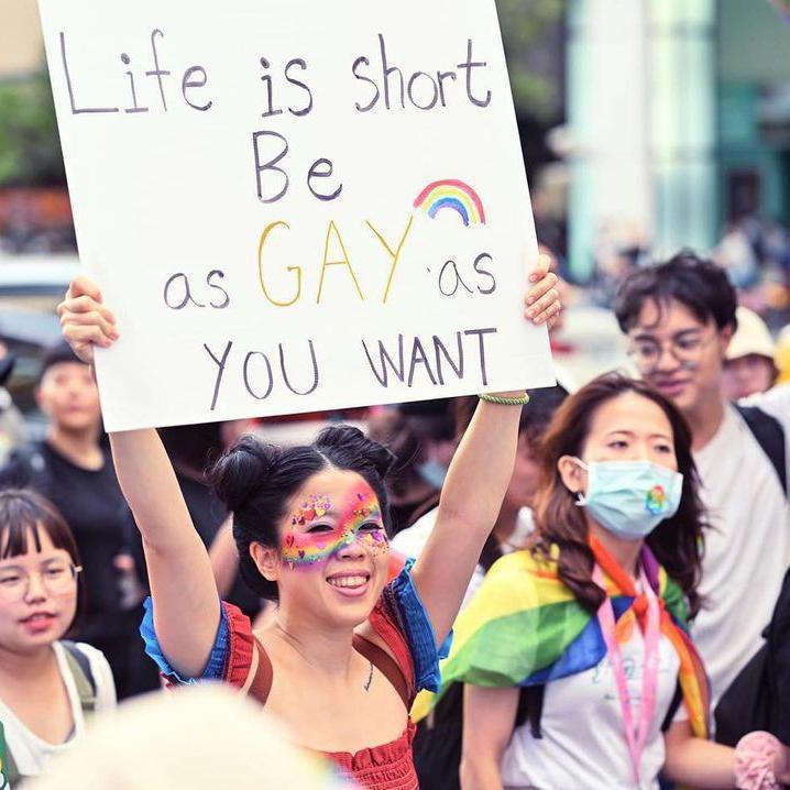 Participants in Taipei Pride
