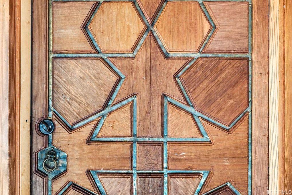 Jerry Garcia's studio door