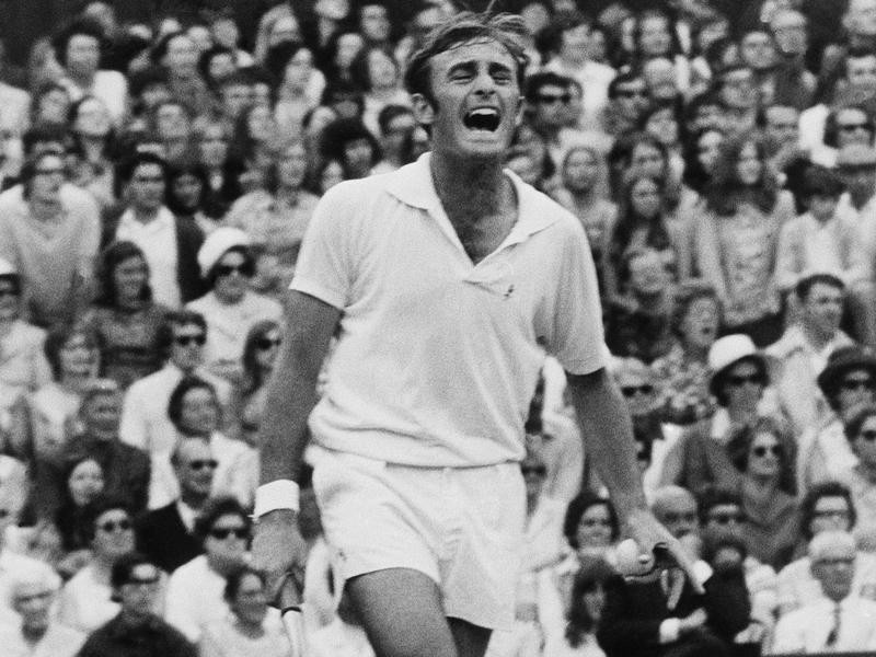 Australian tennis player John Newcomebe