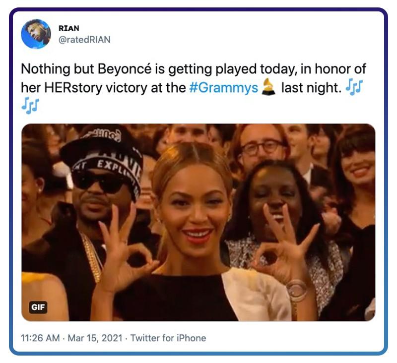 Beyoncé's music is a life soundtrack