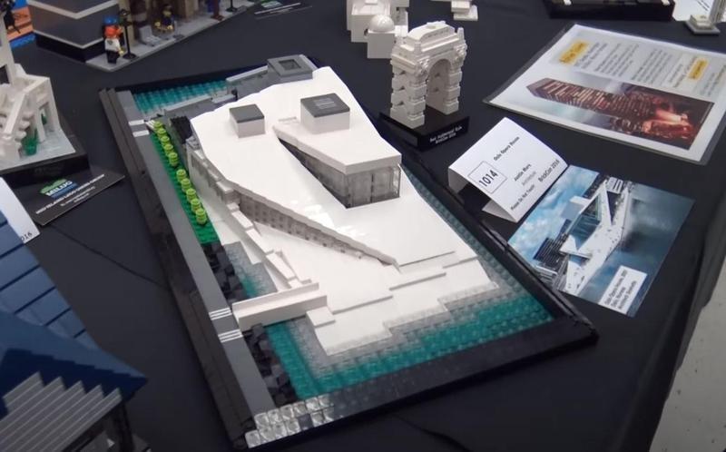 Oslo Opera House made of Legos