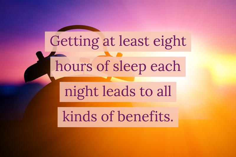 adjust bedtime