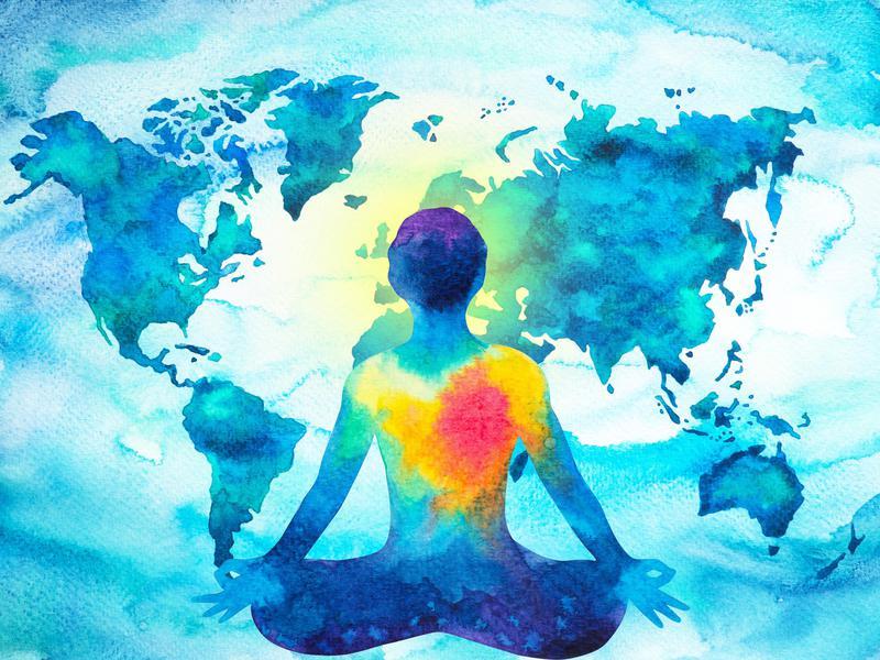 Spiritual World Map