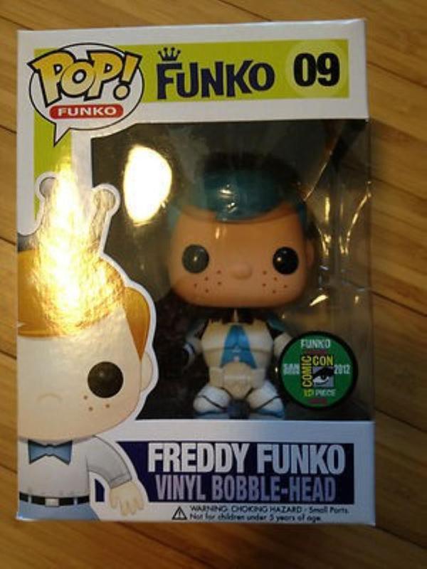 Clone Trooper Freddy with Blue Hair