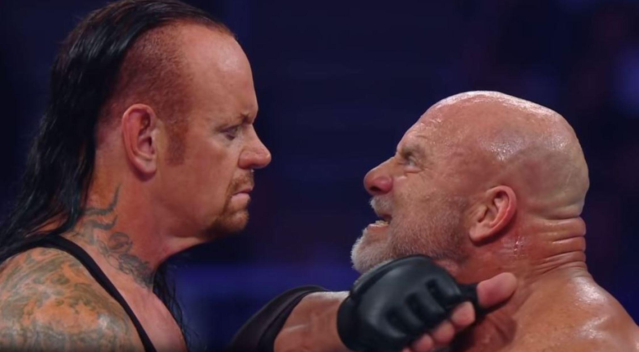 Goldberg vs Undertaker at Super ShowDown
