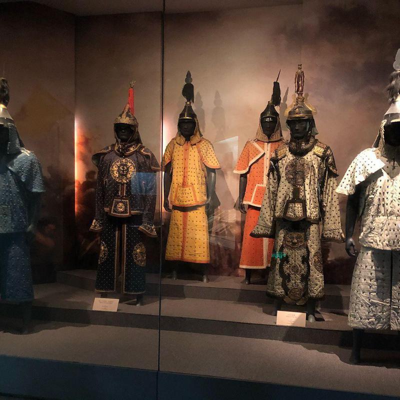 Armors at Zhejiang Museum