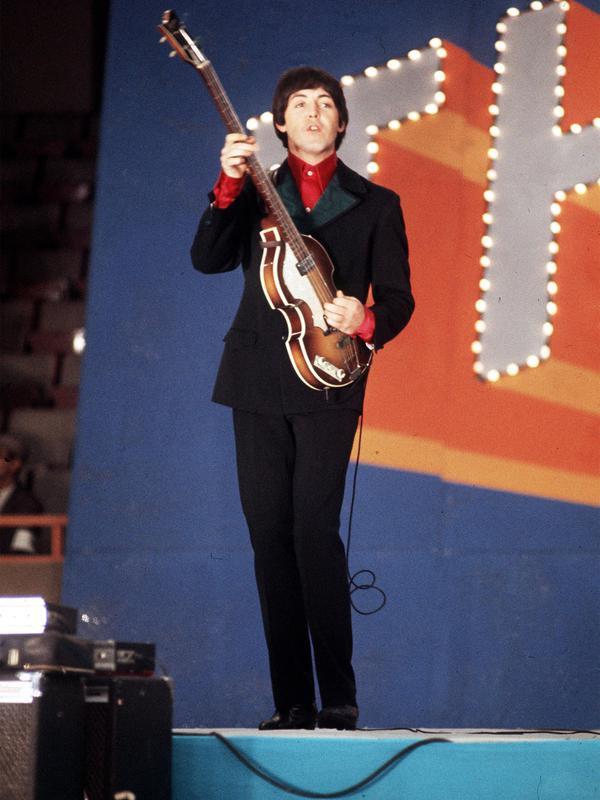 Paul McCartney in Tokyo, Japan, in 1966