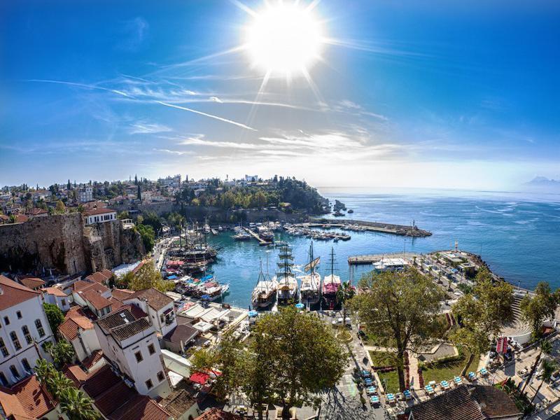 Antalya, Visited countries 2019