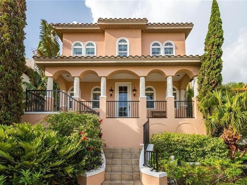 Million-dollar home in Tampa, Florida
