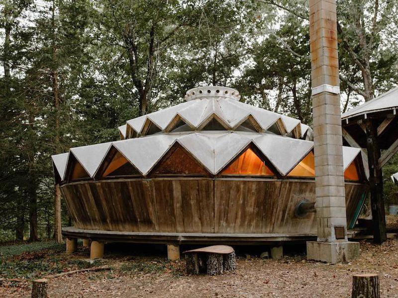 Forest Garden Yurt in Missouri