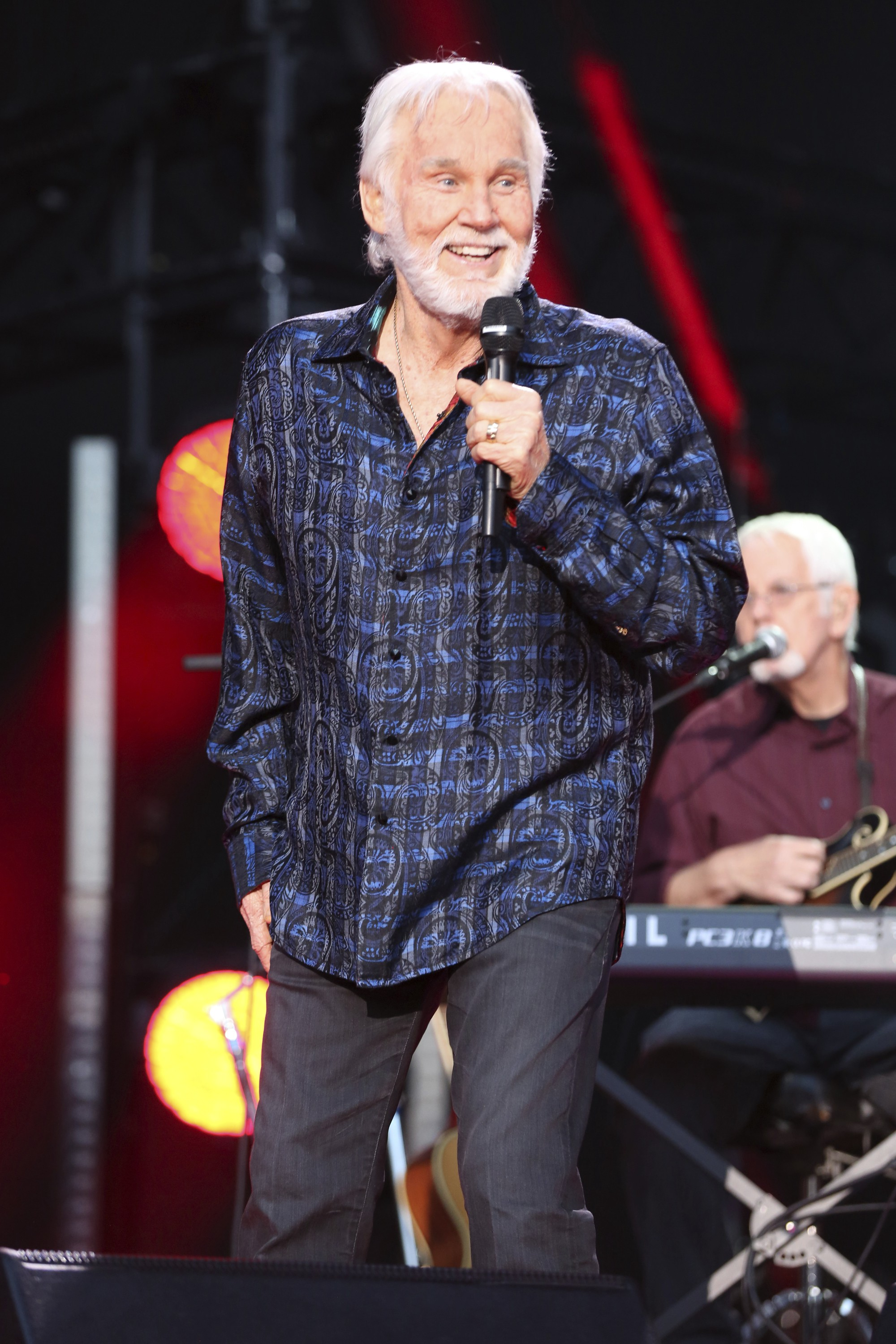 Kenny Rogers in 2017