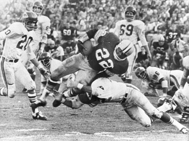 Klijah Pitts in Super Bowl I