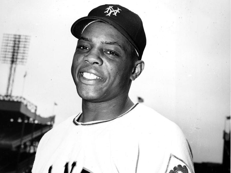 New York Giants outfielder Willie Mays
