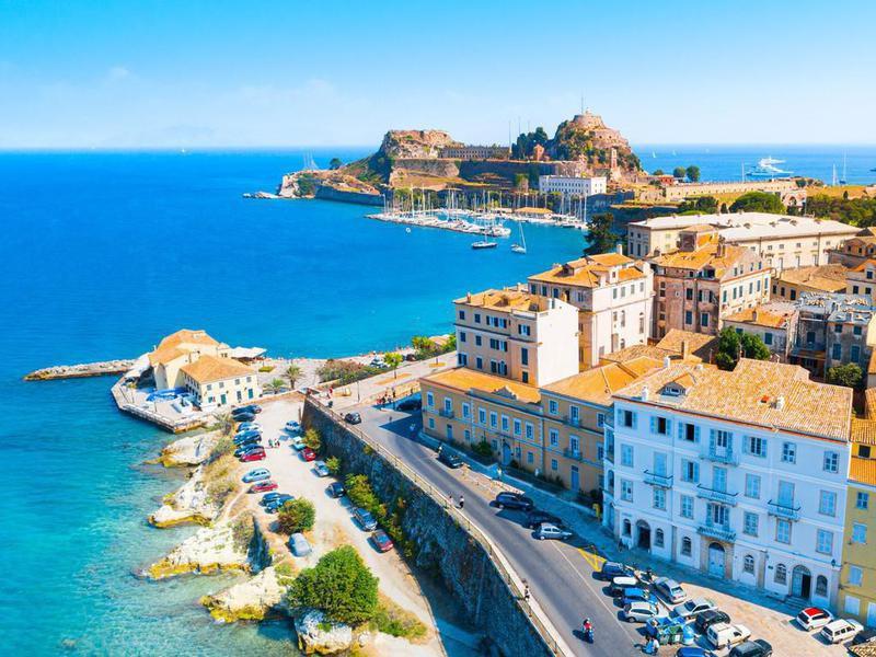Kerkyra, capital of Corfu island, Greece