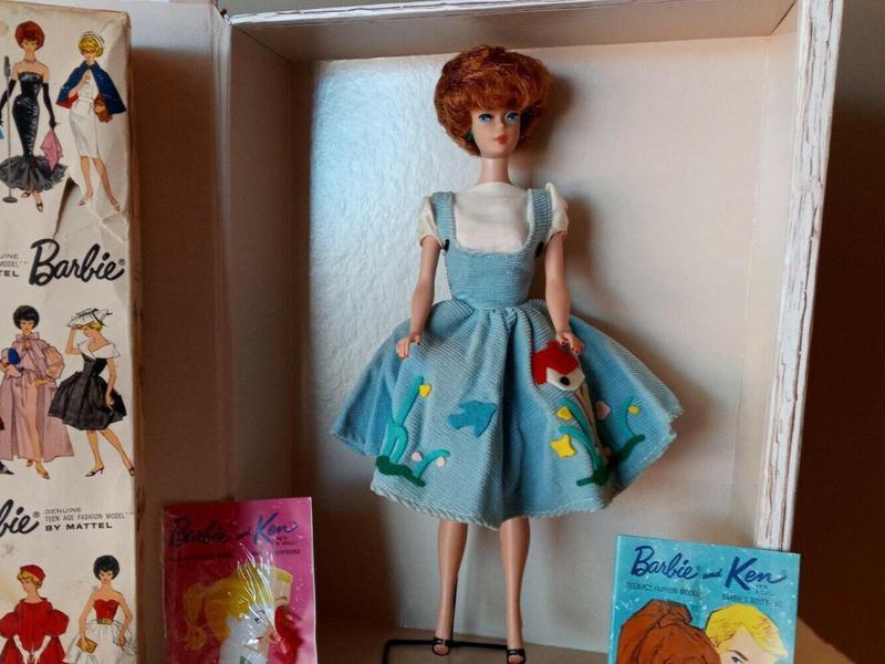 Brunette Bubble Cut Barbie
