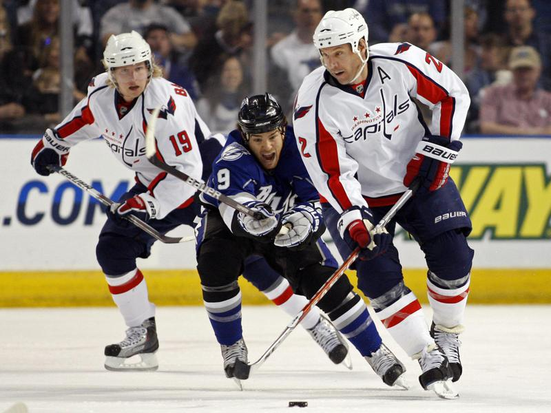Mike Knuble and Nicklas Backstrom