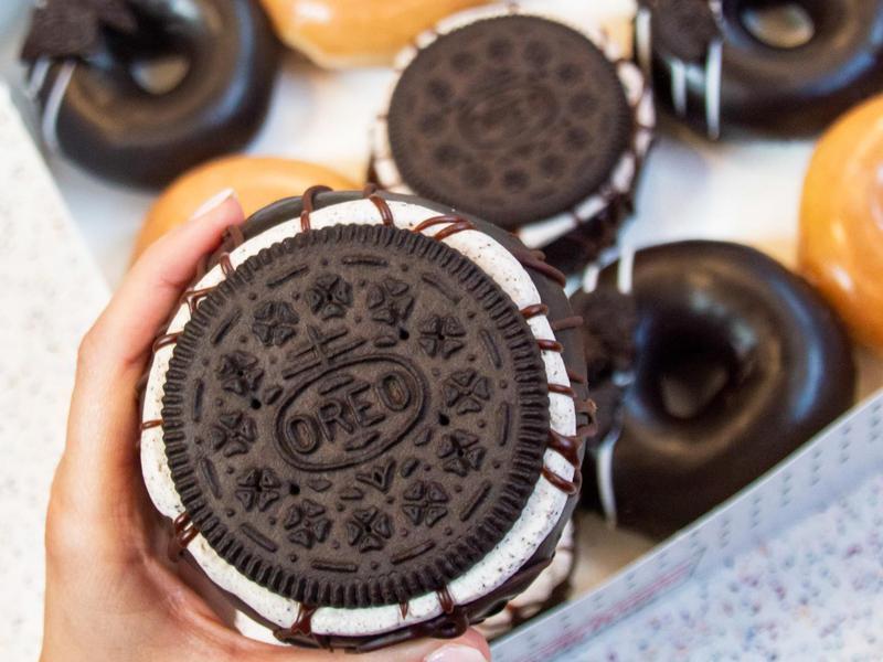 Oreo Cookie Krispy Kreme Donut