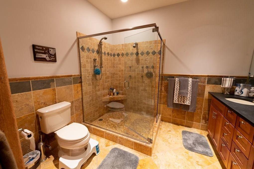 Bathroom with Squatty Potty