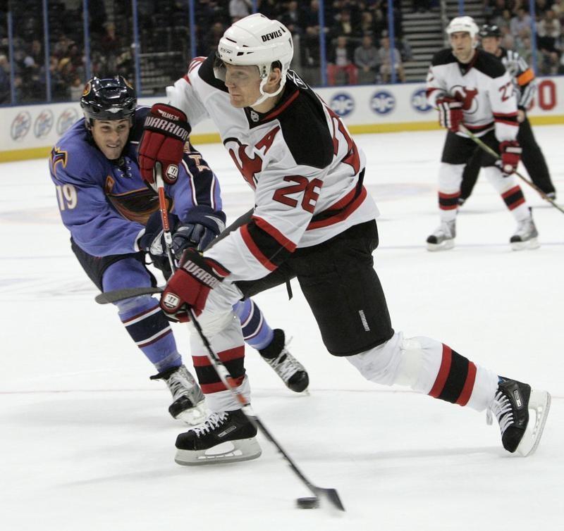 New Jersey Devils left wing Patrik Elias