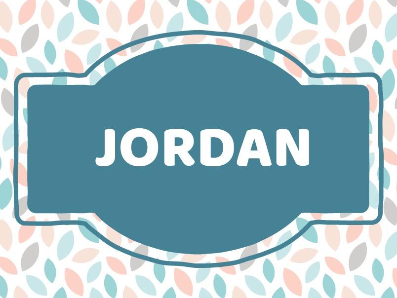 Baby Name Inspiration: Jordan