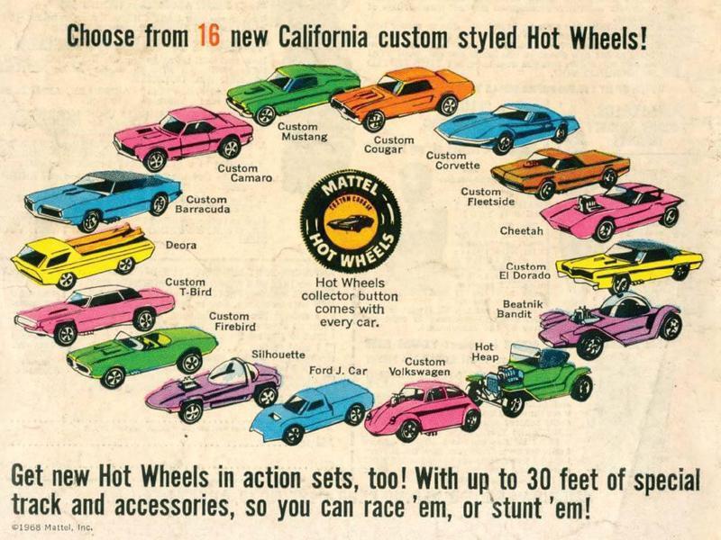 "Original ""Sweet 16"" Hot Wheels"