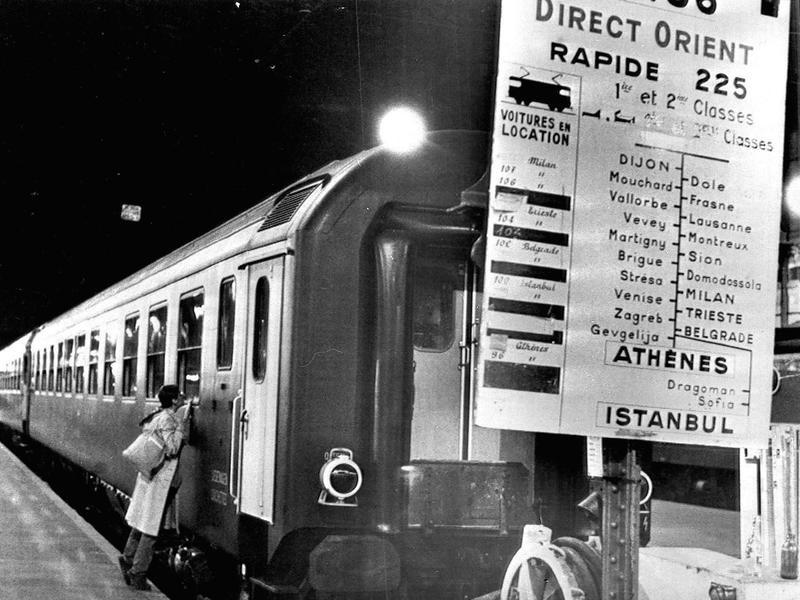 Orient Express final run in 1977