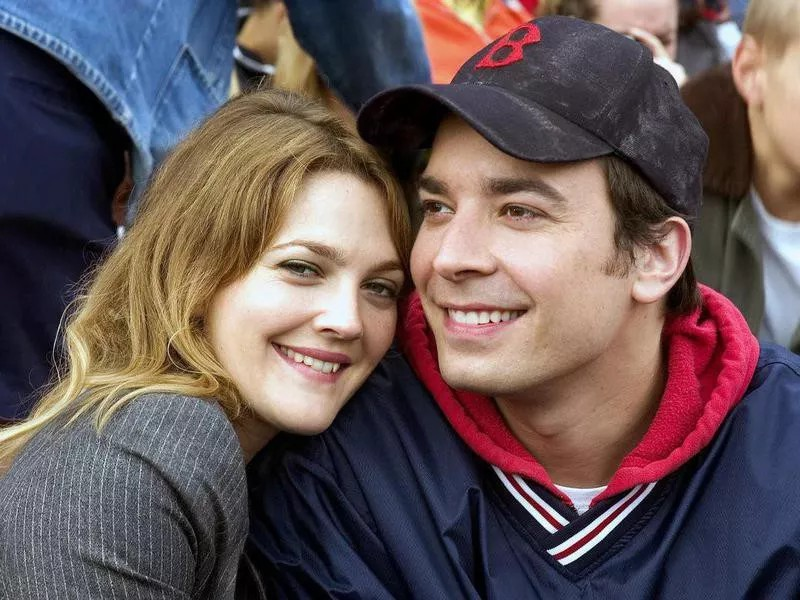 Drew Barrymore and Jimmy Fallon in Fever Pitch