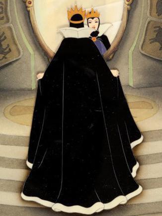 Snow White Evil Queen production cel